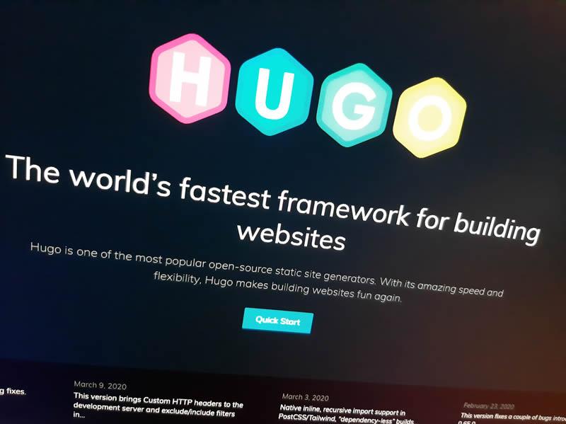 Migrar la web a Hugo js i AWS
